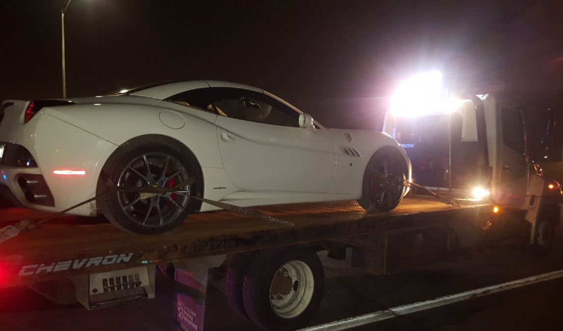 Ferrari, Mercedes seized for going 161 km/h in a 60