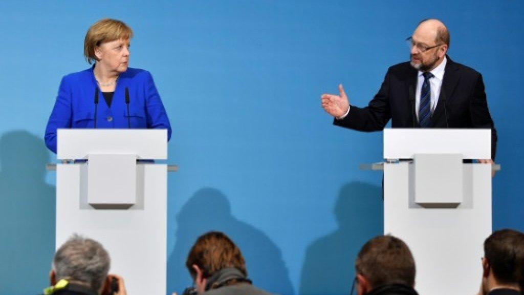 As coalition haggling resumes, Merkel races to stop power ebbing