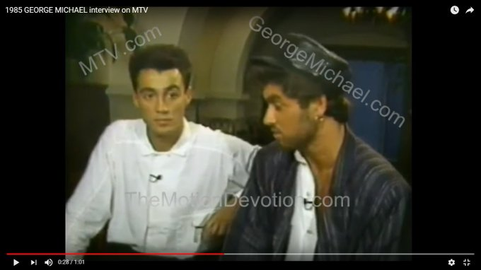 Happy birthday to Andrew Ridgeley. He was in Wham! Featuring George Michael.