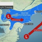 Snow possible Monday in N.J. after weekend weather in the 50s