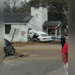 Stolen car crashes into Baton Rouge church after early Friday police chase, police say