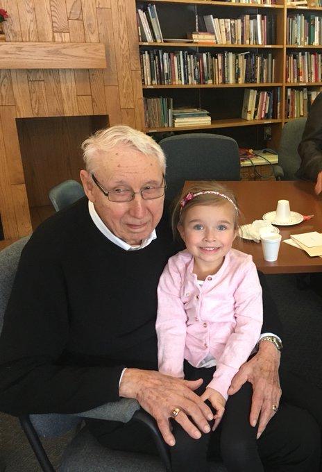 Big day today! Happy 96th birthday to my Papa George Tastad from Loreburn,SK.  (Also to my buddy Wayne Gretzky)