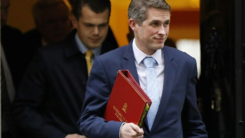 Moscow says UK defence minister worthy 'of Monty Python'