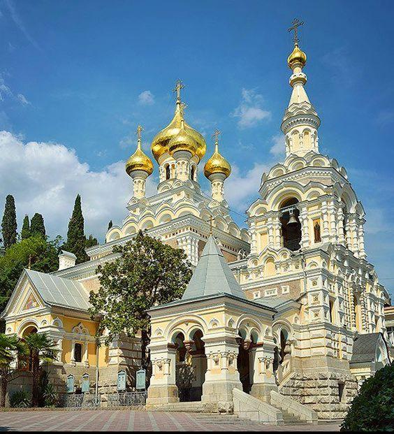 °A Nevskij Church in Yalta #Crimea #Russia #Orthodox #Christian #РоссияПрав ...