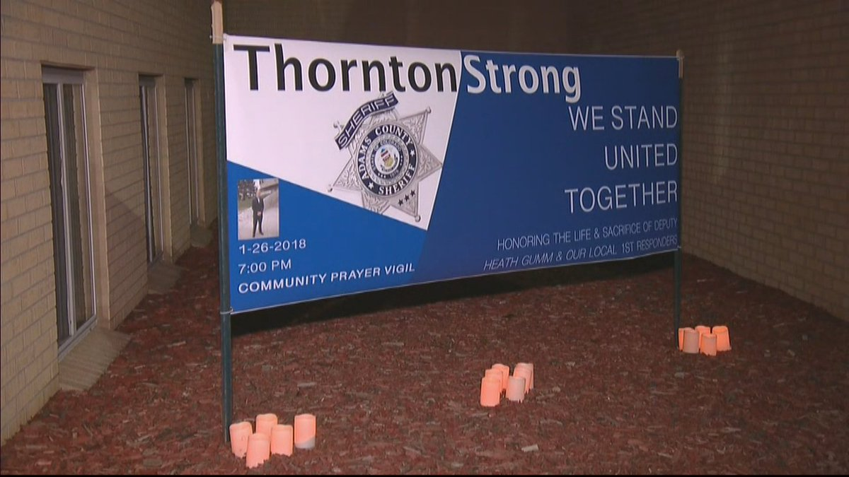 'Give Them Hope': Community Gathers In Fallen Deputy'sHonor