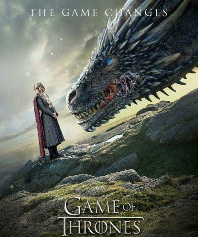 #GameofThrones #Season8 #DaenerysTargaryen #Viserion https://t.co/7KbS2gtlJB