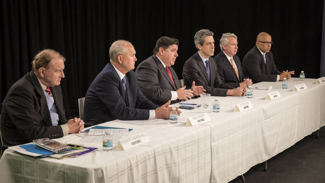 A look at where Illinois governor candidates stand on taxes