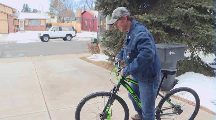 Colo. deputies buy bike for flag waver who had it stolen