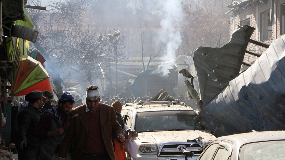 At least 95 people killed and 158 injured in Taliban bomb blast in Kabul