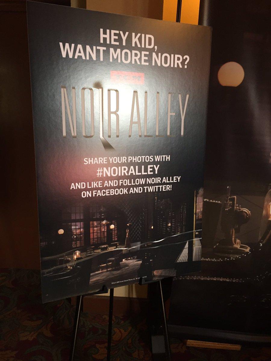 #NoirAlley