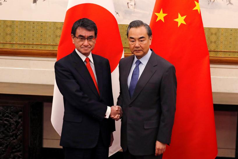 China says hopes to get Japan ties back on track