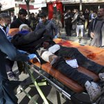 Suicide bomber kills scores at checkpoint in Afghanistan