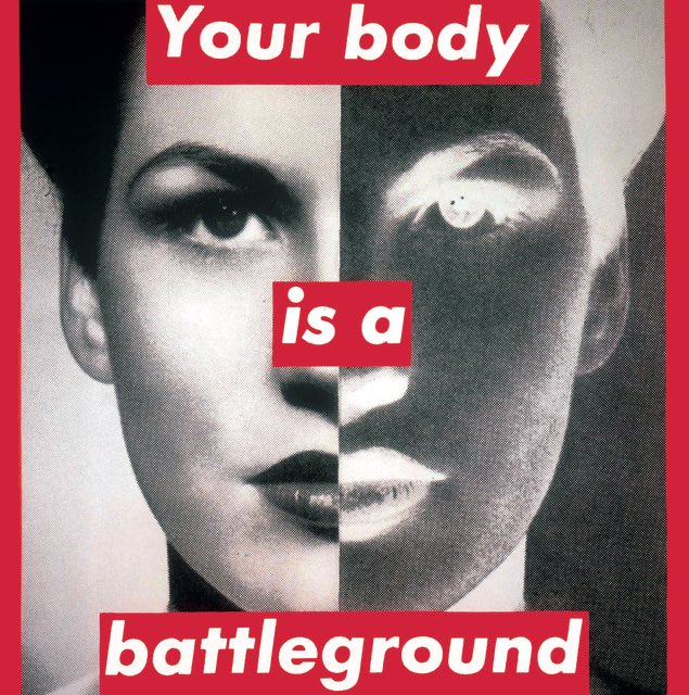Happy 73rd birthday to Barbara Kruger. You re a fucking badass