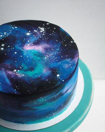 Как сделать космос торт 612