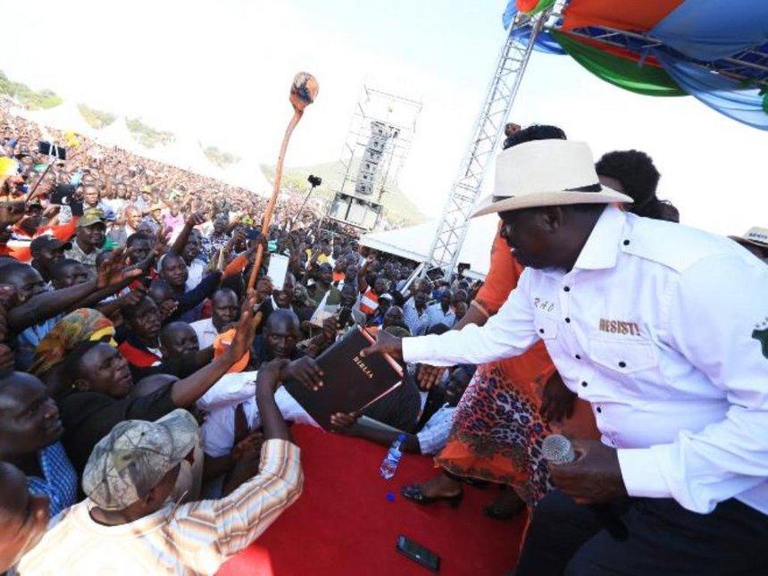 Migori's Obado, Ayako rivalry forced Raila to shift rally venue to Homa Bay