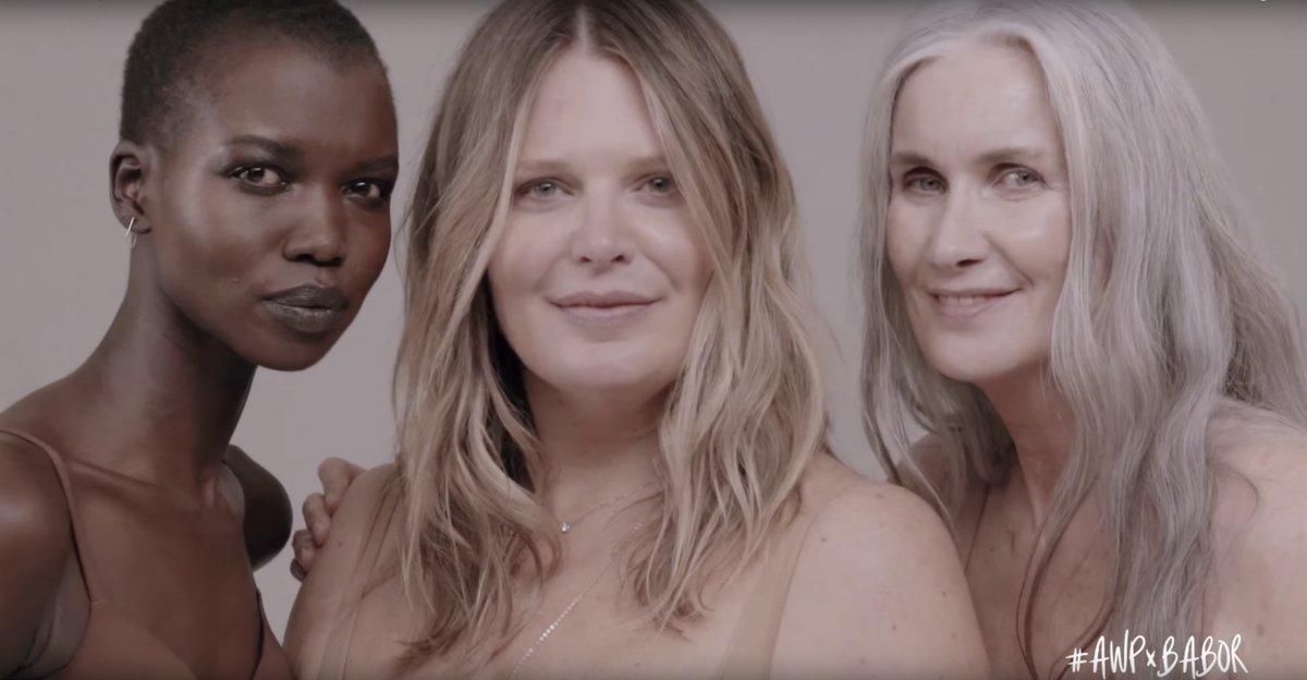 Unretouched beauty campaign celebrating diversity praised