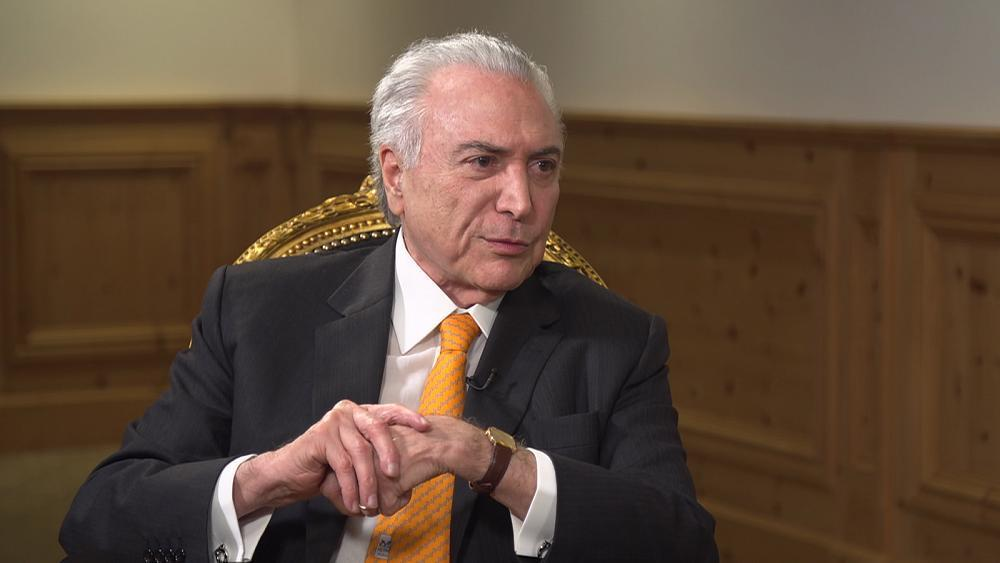 Temer: Brazil has returned to growth and the future is bright