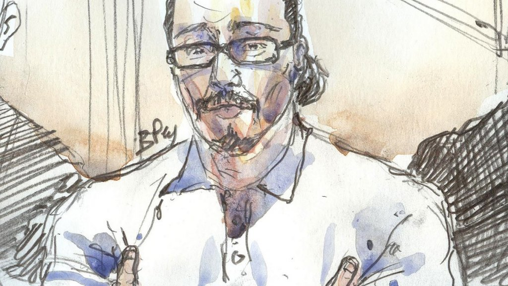 'Daesh landlord' Jawal Bendaoud mocked as he goes on trial in Paris