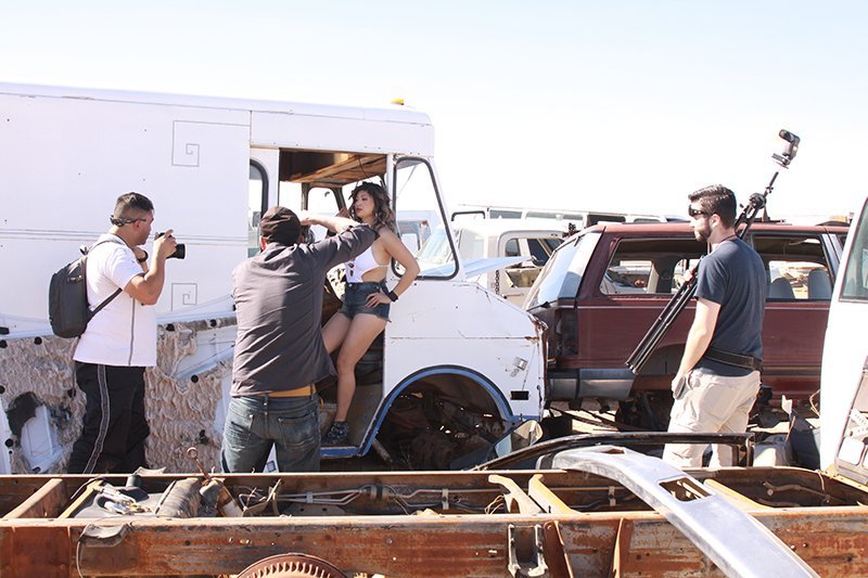 So much fun yesterday at the Junkyard Shoot Out. Thank you to all the photographers, you were all awesome