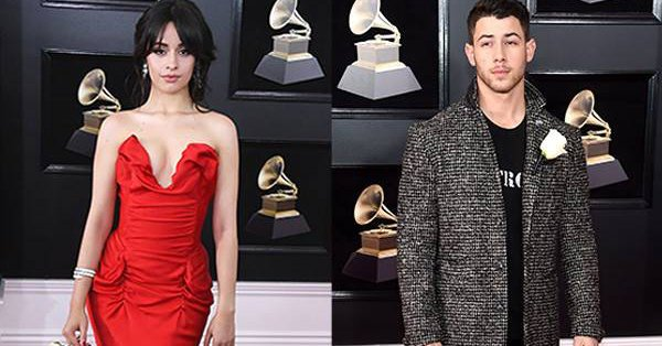 Camila Cabello blew a kiss to Nick Jonas on the GRAMMYs red carpet and it was everything: