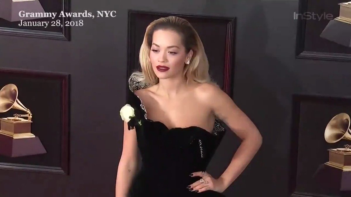 RT @InStyle: .@RitaOra knows how to work a thigh-high slit! https://t.co/9araCNBmJX