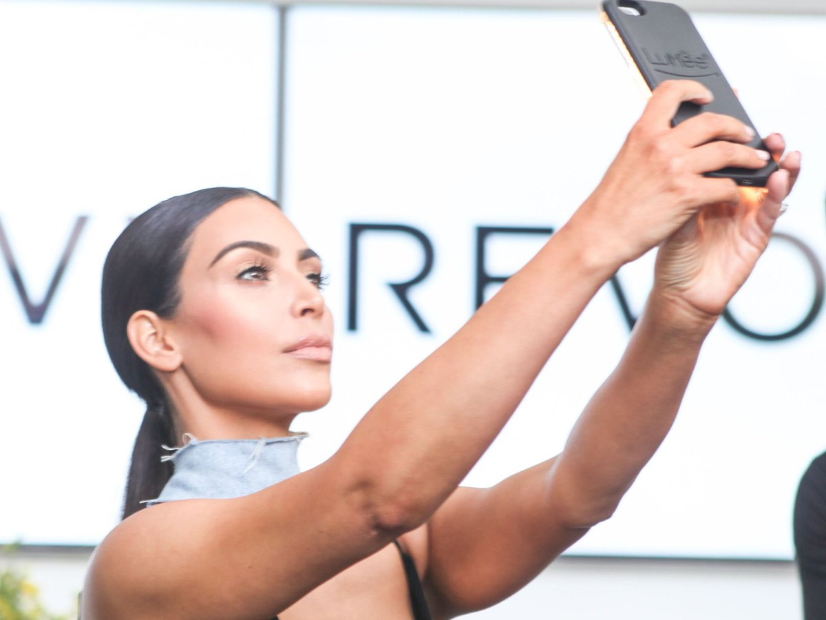 Kim Kardashian Is On Fire In Her Most Recent Instagram Photo