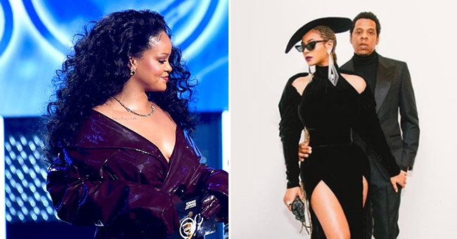 What Rihanna and Beyonce did at the Grammys REALLY confused fans...