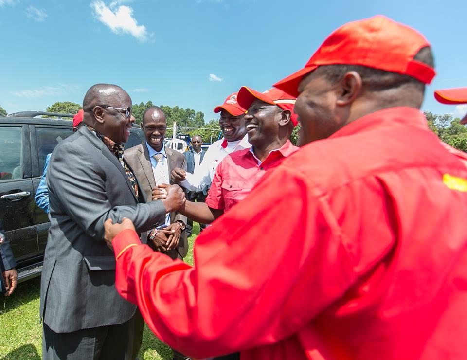 Bomet leaders plead with Uhuru to give former NASA co-principal Isaac Ruto a job