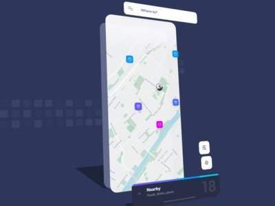 Navigo UI Kit by aureliensalomon freebie