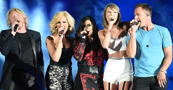 Little Big Town has a special message for Taylor Swift after their Grammys win: