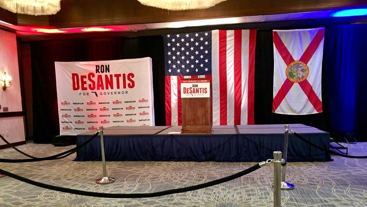 GOP Rep. Ron DeSantis kicks off gubernatorial campaign