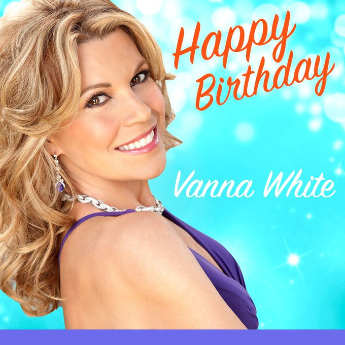Happy Birthday, Vanna White!