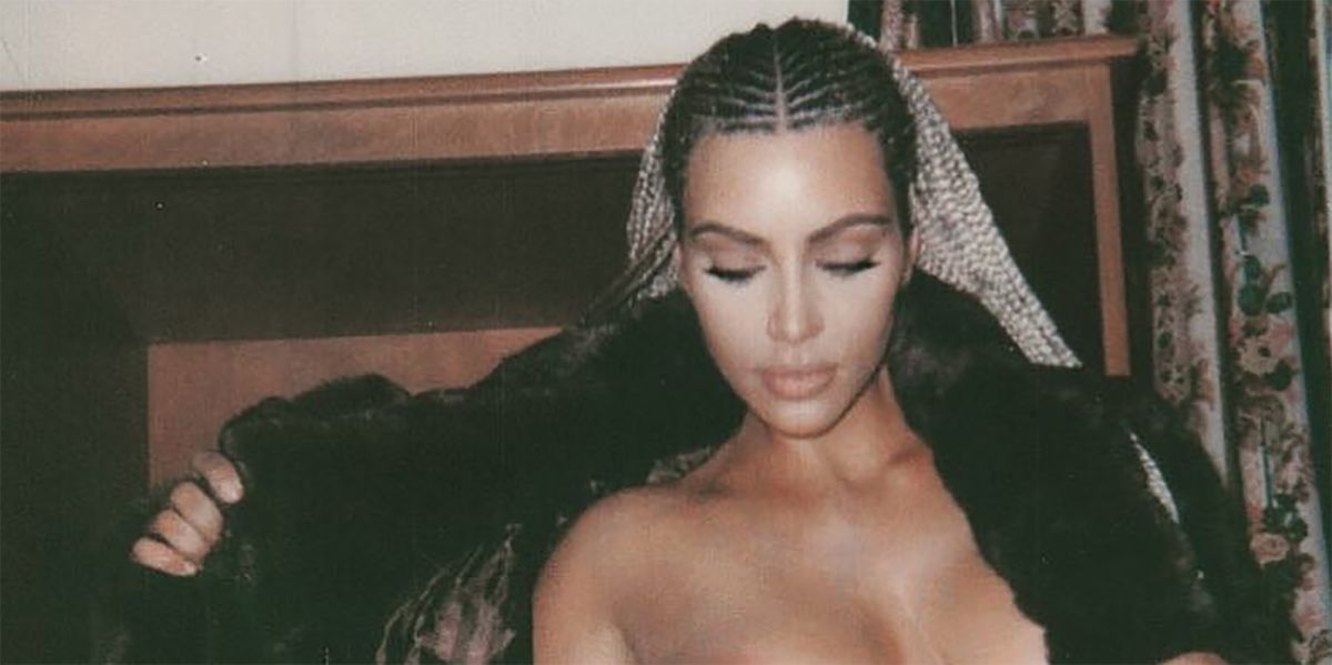 Kim Kardashian Just Posted A Totally Nsfw Pic On Instagram And It S Super Raunchy