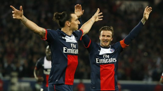 Beckham wants Ibrahimovic to stay at Manchester United amid MLS interest