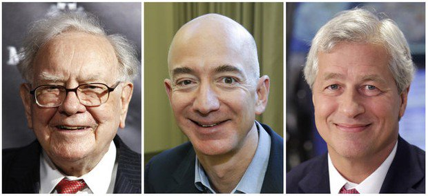 Amazon teams up with JP Morgan and Berkshire in health care