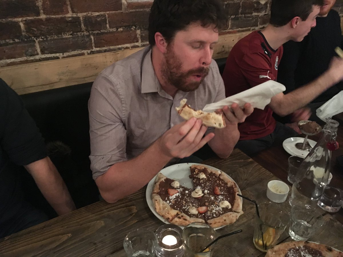 test Twitter Media - Looks like the Nutella Pizza's @baffipizzeria went down a treat! https://t.co/Tmf149s9bo