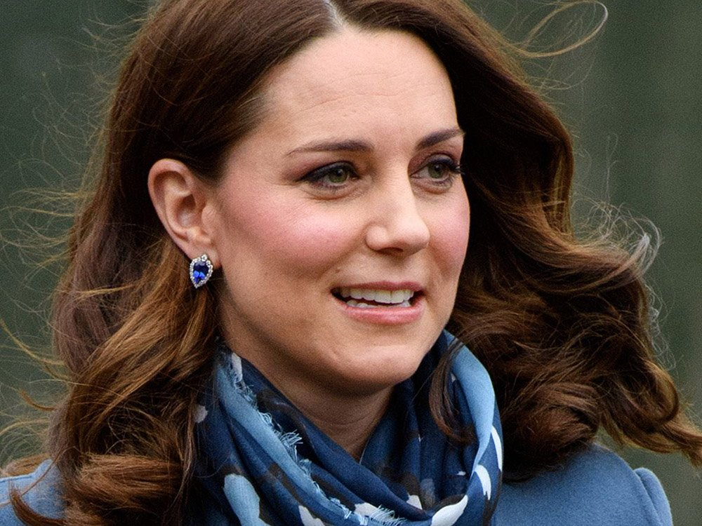 Someone's just let slip some ADORABLE news about Kate Middleton today...