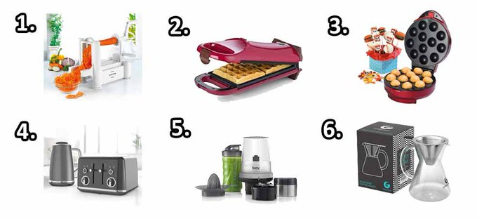 Win an ultimate Kitchen Gadget bundle! freebie giveaway competition RT tuesdaytreat