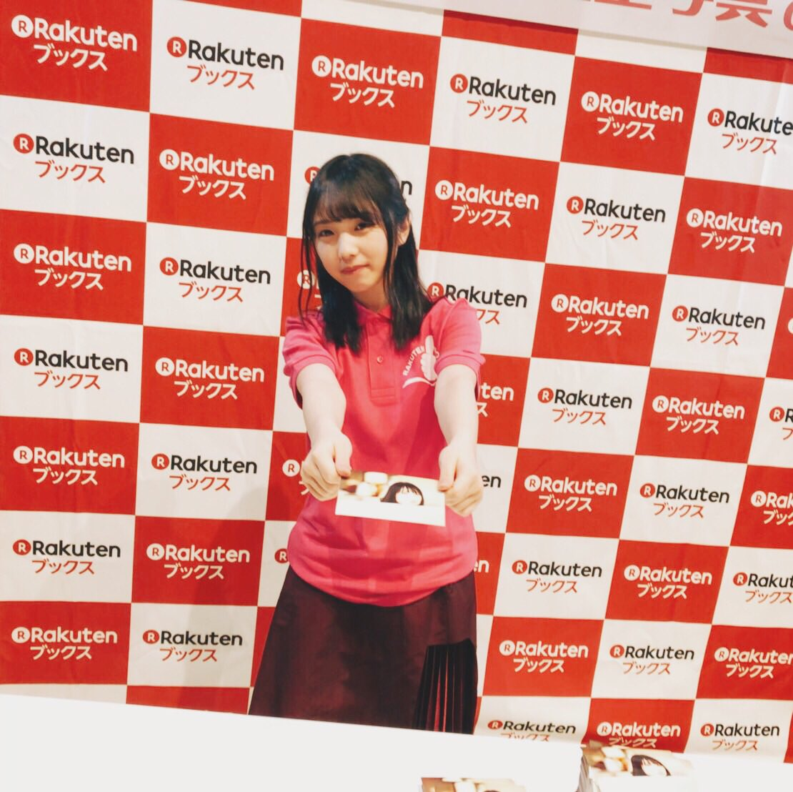 本日は楽天ブックスさん主催の生写真お渡し会でした♪ 与田さん、1日店長お疲れ様でした! 皆さま、写真集...