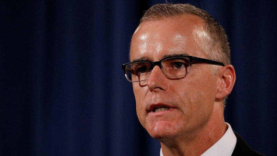 DC rumors swirl as FBI deputy director steps down amid 'Russiagate' hearings