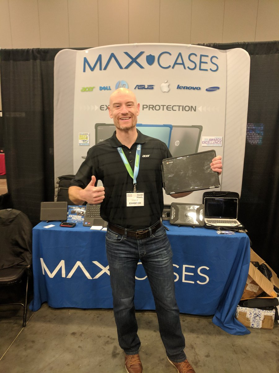 @MAXCases is here #msmeca18 come by our booth for all your Apple, Dell, Lenovo, and especially Acer needs! https://t.co/hL0tWkPEzL