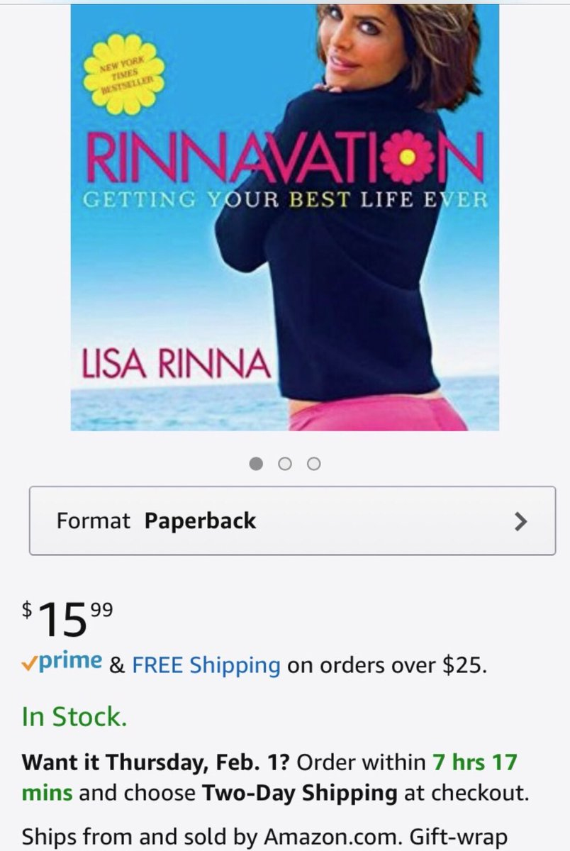 RINNAVATION IS BACK IN STOCK ON AMAZON. ???? https://t.co/268E7oIcvF