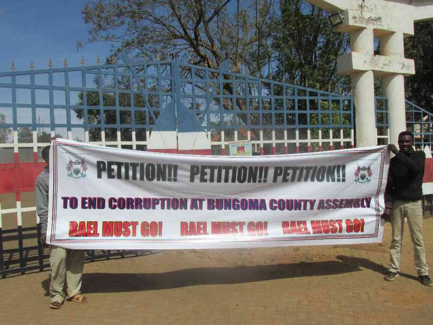 Heated debate, demo as Bungoma MCAs vote for PSB officials