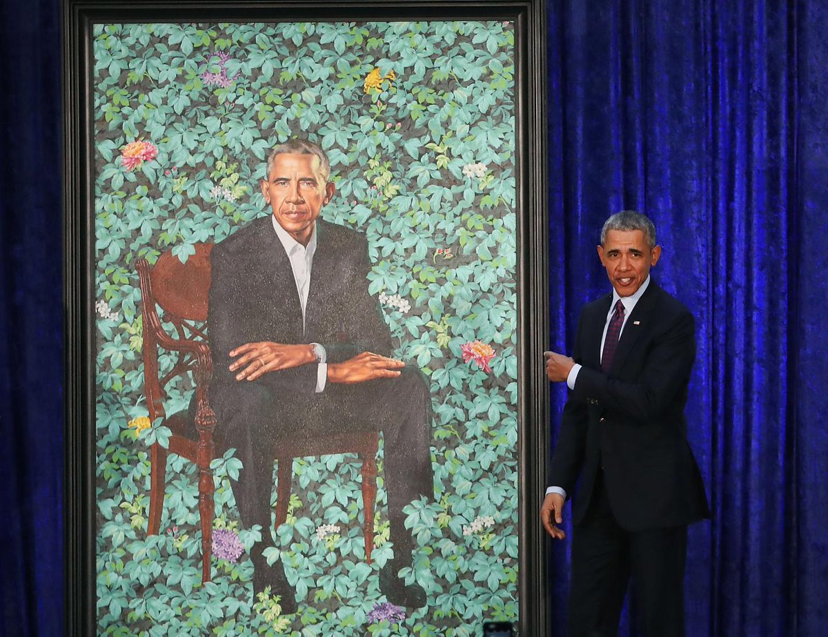"Sean Hannity says Obama's portrait artist included ""sexual innuendo"" with secret sperm"