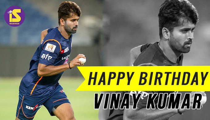 Happy Birthday Vinay Kumar R: He is the 8th highest wicket-taker in IPL cricket