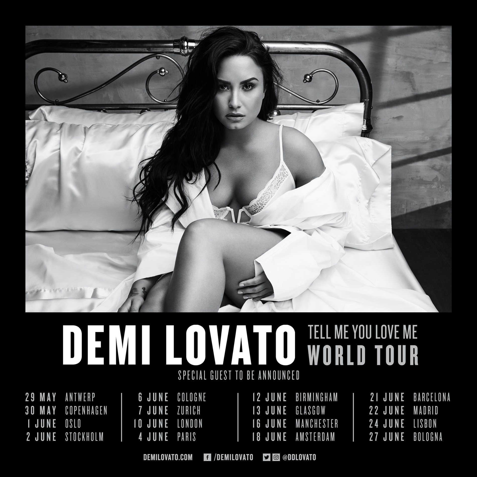Europe!! Told you I was coming... �� Tickets go on sale this Friday!! #TellMeYouLoveMeTour https://t.co/XiQvqAd6uf https://t.co/K6V09F0dJ4