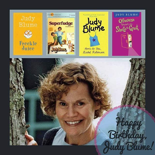 Happy birthday to Judy Blume!