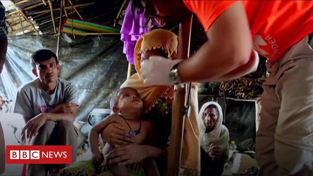 London aid workers help Bangladesh Rohingya refugees