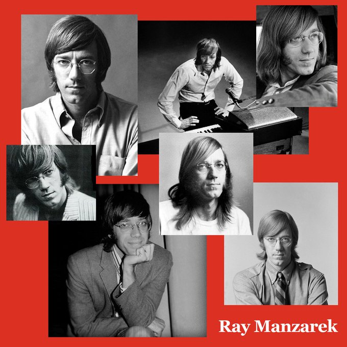 Happy Birthday to the one and only Ray Manzarek! 1939-2013.
