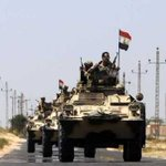 Egyptian security forces kill 12 militants in terrorist attack